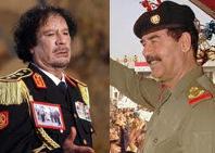Las diferencias entre Libia e Irak
