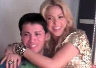 Shakira conoce a Shakiro y cantan a duo (foto + video)