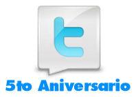 Hoy Twitter celebra su 5to Aniversario. Conozca sus números.