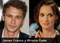 """James Franco y Winona Ryder juntos en """"The Stare"""""""