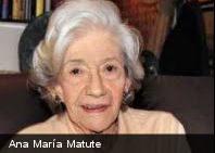 Ana María Matute recibió premio Cervantes