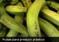 Crean nuevo plástico a partir de frutas