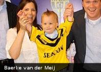 La nueva estrella del fútbol holandés tiene solo 18 meses