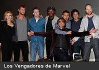 "Comenzó el rodaje de ""Los Vengadores, de Marvel"