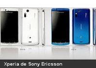 Nuevo Xperia de Sony Ericsson