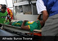 Futbolista muere tras meter un gol