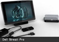 Dell Streak Pro, nuevo tablet Honeycomb de 10