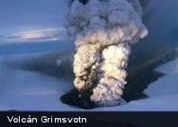 Entra en erupción el volcán más activo de Islandia, el Grimsvotn