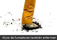 Hijos de fumadores tienen mayor riesgo de sufrir asma y presión arterial alta