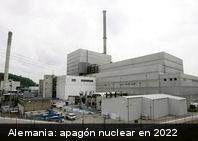 Tras la tragedia de Fukushima: Alemania adelantará el apagón nuclear al 2022