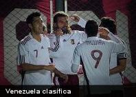 Venezuela clasifica por primera vez en su historia a semifinales de Copa América