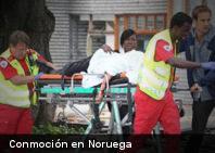 Conmoción en Noruega por serie de atentados en Oslo