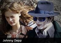 Primera imagen de Johnny Depp en el set de Dark Shadows