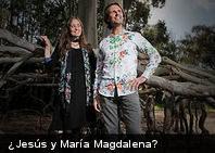 Pareja de australianos aseguran ser la reencarnación de Jesús y María Magdalena