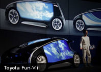 Nuevo Toyota Fun-Vii: un smartphone sobre 4 ruedas