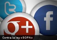 Google, Facebook y Twitter cerrarán sus sitios