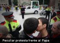 El matrimonio homosexual amenaza el futuro de la humanidad, afirma el Papa