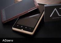 Te presentamos ADzero: un nuevo móvil ecológico hecho de bambú