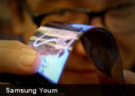 Te presentamos Samsung Youm, la nueva pantalla AMOLED super fina y flexible