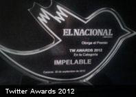 @Culturizando obtiene premio «Twitter Awards 2012» como la cuenta que no puede faltar en tu Twitter