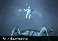 Hazaña: Felix Baumgartner saltó desde 39.000 metros y rompió la velocidad del sonido