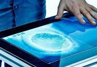 Tecnología: Esta pantalla touch reconoce huellas dactilares