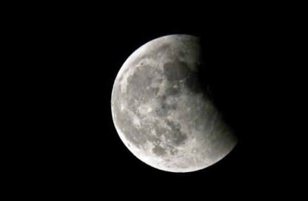 Todo listo para el primer eclipse lunar del año