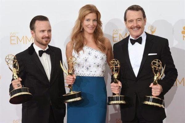 Breaking Bad, la gran ganadora de la noche de los Emmys
