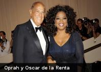 10 creaciones de Oscar de la Renta en la alfombra roja