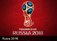 Desde el espacio la FIFA presenta el logo de la Copa del Mundo Rusia 2018 (+Imágenes)