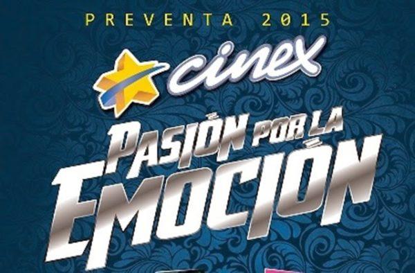Nuestros amigos de Cinex prometen un 2015 lleno de pasión y emoción