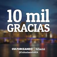 Culturizando Miami en Instagram ► https://instagram.com/CulturizandoMIA alcanza sus primeros 10 mil seguidores