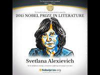 La escritora bielorrusa Svetlana Alexievich es la ganadora del Premio Nobel de Literatura 2015