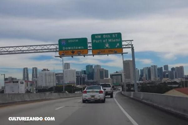 Mujer detuvo a un policía en Miami por exceso de velocidad (+Video)