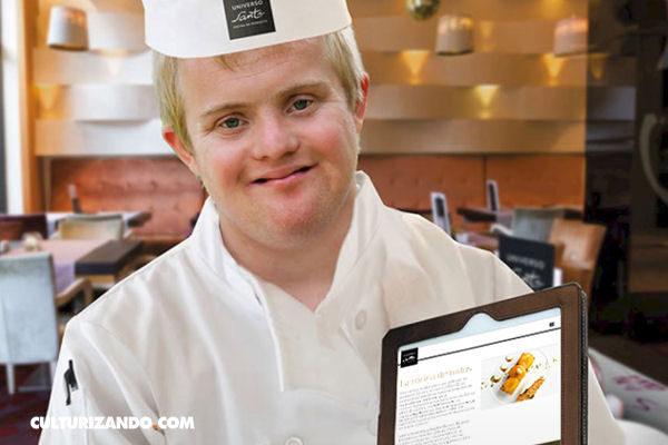 Universo Santi, el primer restaurante atendido por discapacitados