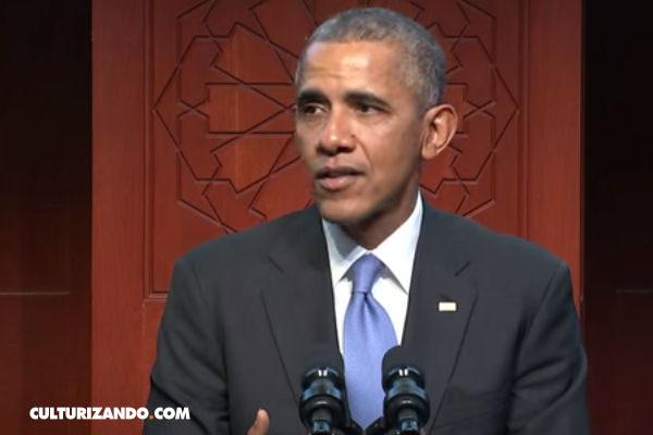 Primera visita de Obama a una mezquita estadounidense