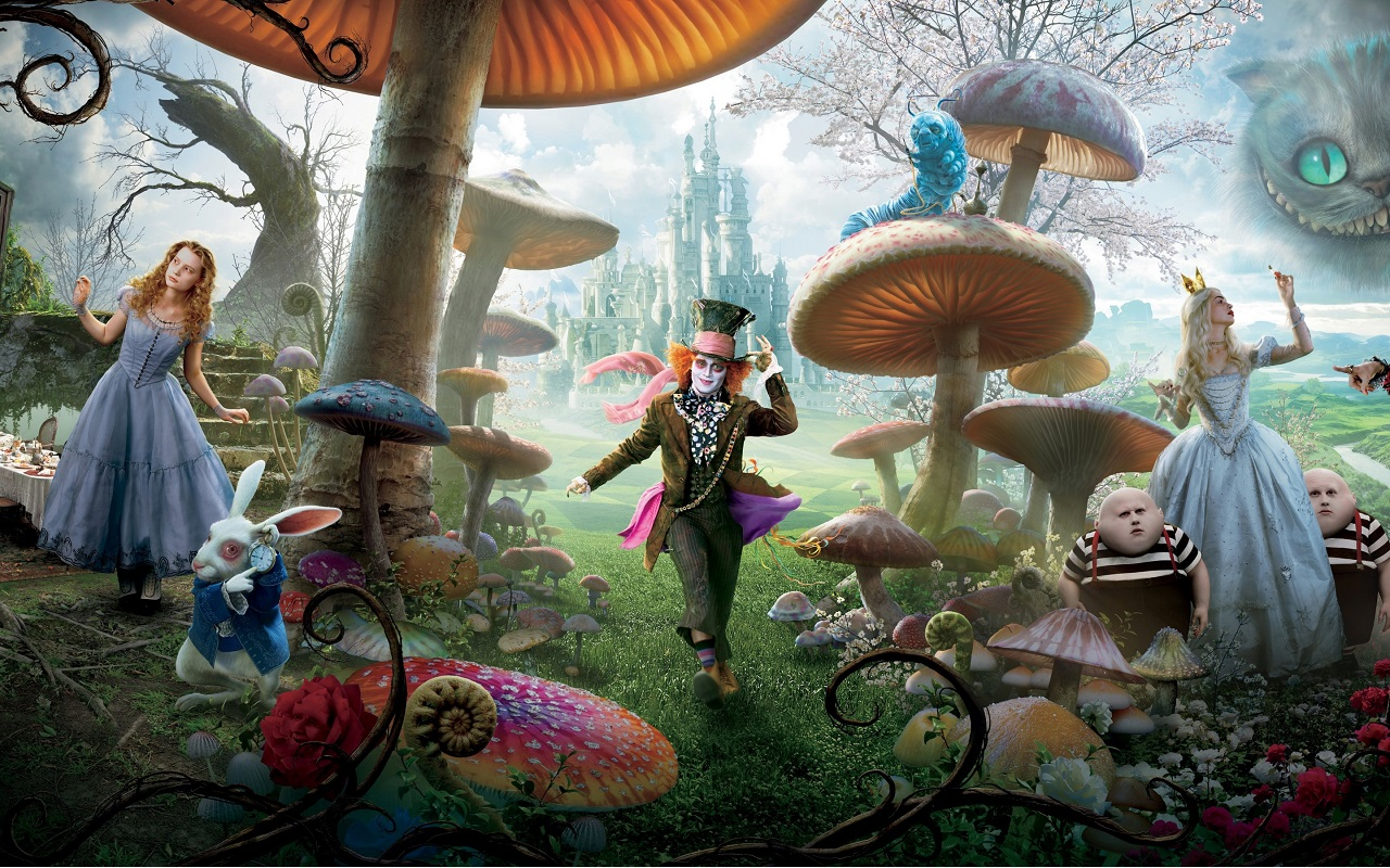 Nuevo Trailer De Alice Through The Looking Glass Czn