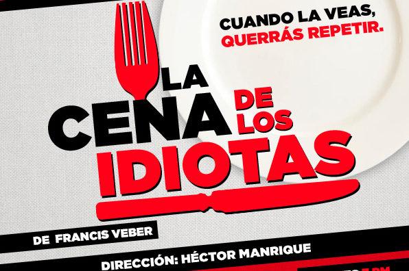 Culturizando te invita a 'La cena de los idiotas' en el Centro Cultural BOD