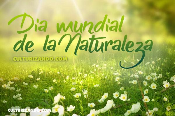 Feliz Día Mundial de la Naturaleza
