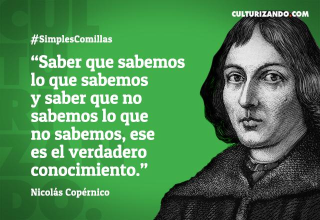 Frases De Nicolás Copérnico Czn Mundo Noticias