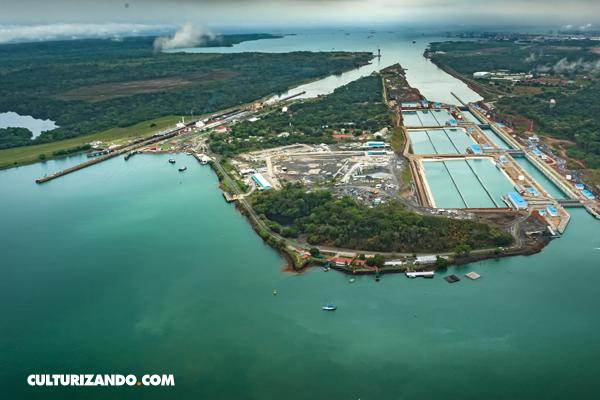 Inauguran el nuevo Canal de Panamá y un barco chino hace el primer viaje (+Datos)