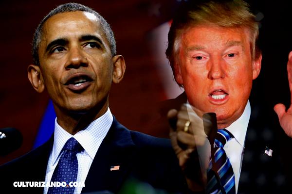 Obama denuncia la demagogia y la xenofobia de Trump