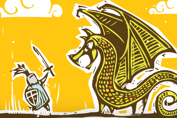 Crónicas clasemedieras: El caballero y el dragón; por Omar G. Villegas