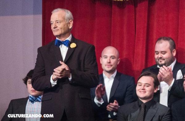 Bill Murray recibió el premio Mark Twain
