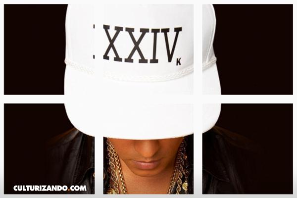 Bruno Mars regresa a la escena musical con nuevo sencillo '24K Magic'