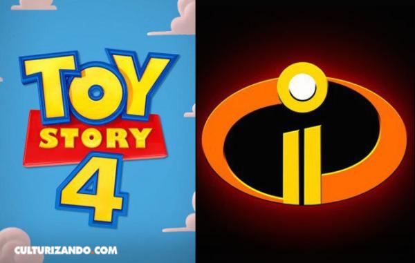 Confirman fecha de 'Toy Story 4' y 'Los Increíbles 2'