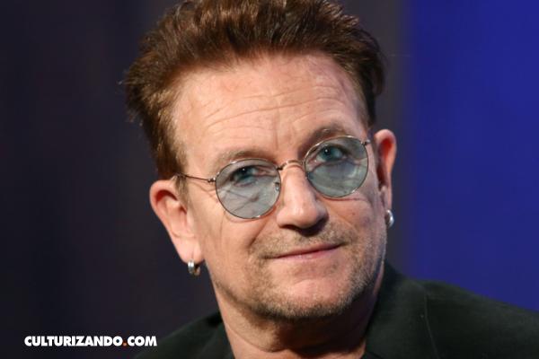 Bono el primer hombre en la lista de Mujeres del Año de la revista Glamour