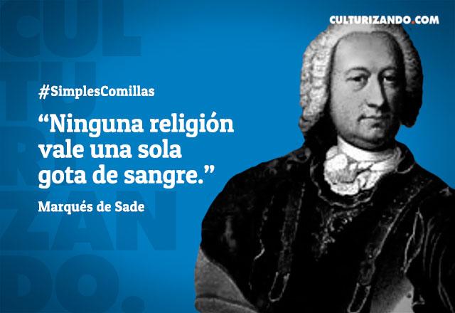 Frases Del Marques De Sade Czn Mundo Noticias
