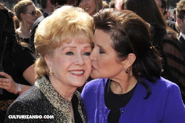 Muere Debbie Reynolds no soportó la muerte de su hija Carrie Fisher