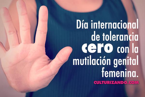 A propósito del Día Internacional de Tolerancia Cero con la Mutilación Genital Femenina